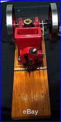LIL BROTHER HIT & MISS MODEL GAS ENGINE MACHINED WithPLANS