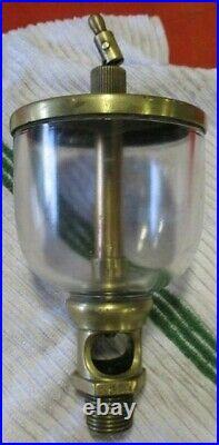 LONERGAN WINE GLASS STYLE OTTO OILER Hit Miss Gas Engine