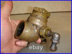LUNKENHEIMER 1-1/4 LH FUEL MIXER or CARBURETOR Hit Miss Antique Gas Engine