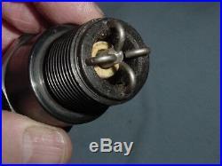 Large 3/4 Straight Pipe Thread Hit Miss Gas Engine Vintage Antique Spark Plug