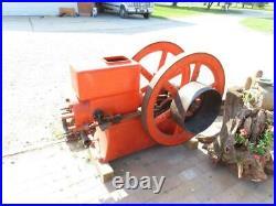 Large Antique Economy 7 HP Hit & Miss Gas Engine