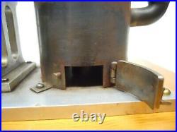 Large Vintage/Antique VAN RENNES MKII Hot Air Stirling Engine -Like a Hit Miss
