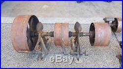 Line Shaft Antique Lathe Steam Engine Hit Miss hitmiss