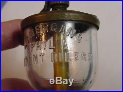 Lonergans Hit Miss Gas Steam Engine Wineglass Oiler OTTO Standard Separator