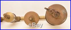 Lukenheimer Sentinel Paragon Drip Oiler Hit Miss Engine Steampunk Brass Glass 11