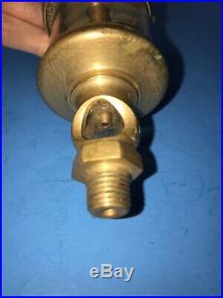 Lunkenheimer CROWN No. 1 1/2 Swing Top Oiler Lubricator Hit Miss Gas Engine