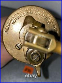 Lunkenheimer PARAGON #2 Oiler Lubricator Hit Miss Gas Engine Antique Steampunk