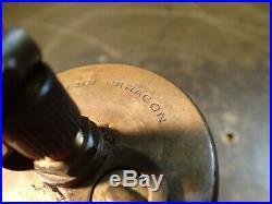 Lunkenheimer Paragon #3 Brass & Glass Hit Miss Engine Oiler 3/8 NPT Thread Used