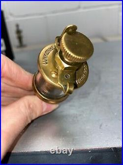 Lunkenheimer ROYAL No. 000 Brass OILER Hit Miss Gas Engine Vintage Antique