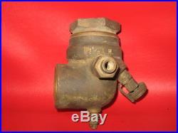 Lunkenhiemer 1 1/2 Carburator Mixer Hit Miss Gas Engine