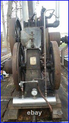 Luther Mfg. Co. Eclipse 4hp Hit and Miss Hot Tube Engine (Oil Field)