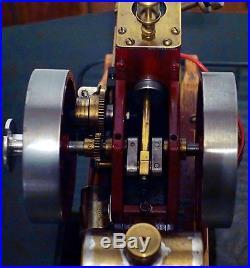 Massey Harris Hit & Miss Gas Engine Model Scratch Built
