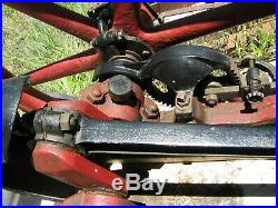 Majestic 7 HP hit and miss stationary engine on cart