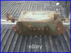 Manzel lubricator engine oiler 5 feed antique tractor hit miss engine
