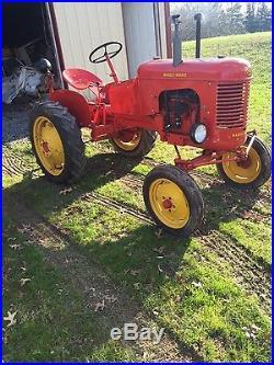 Massey Harris pony tractor hit miss engine
