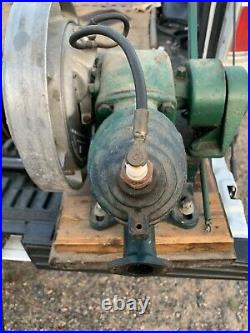 Maytag Hit And Miss Engine Has Spark Good Compression Starter Works S233