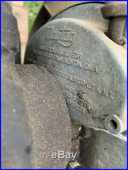 Maytag Hit Miss Engine Twin Cylinder Model 72-D Washing Machine Kick Start Runs