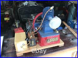Maytag Magneto Upright Gas Engine Hit & Miss Red & Blue