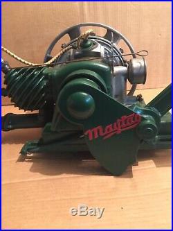 Maytag Model 31 Gas Engine Motor Hit and Miss Runs