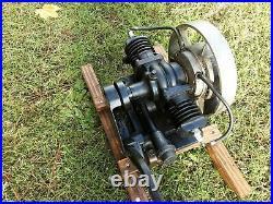 Maytag Model 72 Engine Twin Cylinder Washing Machine Engine Runs Good Video