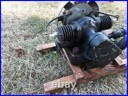 Maytag Model 72 Engine Twin Cylinder Washing Machine Engine Runs Good Video 2