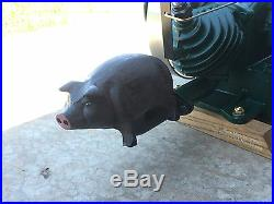 Maytag Smoked Bacon 92, hit & miss Gas Engine PIG Exhaust Muffler Engine show