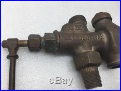 Metropolitan 6N Steam Engine Injector Antique Hit & Miss Stationary Engine Part