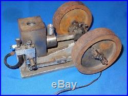 Miniature Antique Salesman Sample Hit and Miss Gas Motor Engine