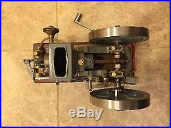 Miniature Hit and Miss Model Engine Gas Paul Breisch Associated Hired Man Vintag