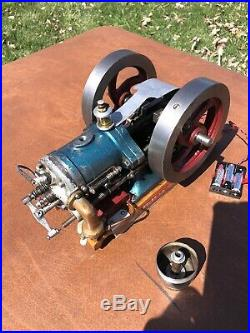 Model Hit Miss Actual Gas Engine From Coles Store Advertising Display & Catalog