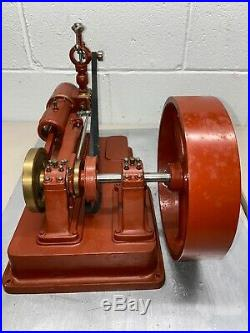 Model Steam Engine Toy Hit Miss Gas Antique Motor Combustion Flywheel Governor