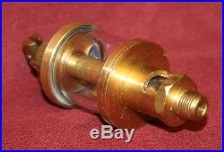 NEW Brass Gas Engine Drip Oiler Hit /& Miss Fairbanks Steam Size #0