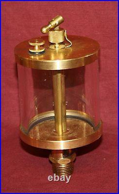 NEW Brass Gas Engine Drip Oiler Hit & Miss Fairbanks Steam Size Fig 77 #5