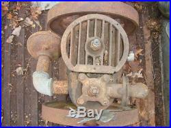 New Way Motor Co 2 HP Vertical Hit & Miss Engine Barn Find Parts Or Repair