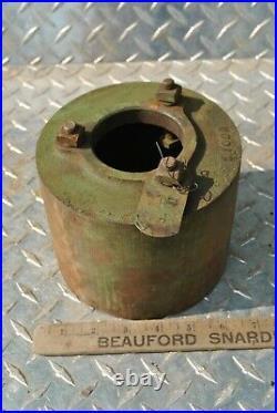 NOS Original John Deere Type E 3 HP Hit Miss Gas Engine Cast Iron Belt Pulley