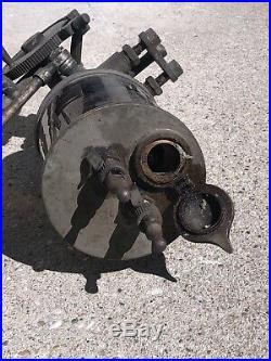 N Heimer Co Factry Large Brass Oiler Hit Miss Steam Punk Engine Train Lubricator