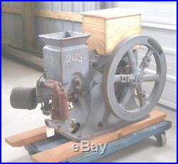 OLDS 1 1/2 Hp Hit Miss gas engine mfg by R E Olds Seager Engine Works