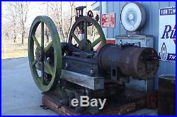 Oil City/South Penn Oil Field Engine with new parts, skid mounted Hit N Miss