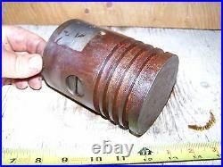 Old 1 3/4hp IHC MOGUL Hit Miss Gas Engine Piston Steam Magneto Oiler Ignitor WOW