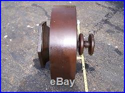 Old BAKER MONITOR Clutch Pulley Hit Miss Gas Engine Motor Steam Magneto NICE