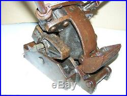 Old CLIPPER 6 Inch Bench Top Flat Belt Lacer Lacing Machine Hit Miss Engine NICE