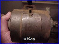Old COMET Hendricks Novelty Hit Miss Gas Engine Low Tension Magneto Generator