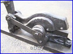 Old EDWARDS #5 Alligator Metal Shear Blacksmith Tool Farm Primitive Hit Miss WOW
