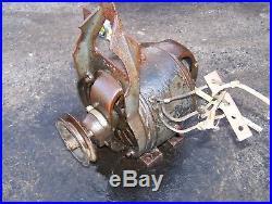 Old FAIRBANKS MORSE Belt Driven GENERATOR DYNAMO Hit Miss Gas Engine Steam Motor