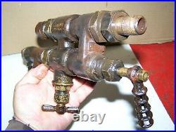 Old HANCOCK 12 1/2 Steam Traction Engine Boiler Locomotive Inspirator Hit Miss