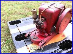 Old International Harvester IHC 1 1/2 to 2 1/2 HP LA LB Hit Miss Gas Engine