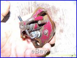 Old JACOBSON BULLSEYE WARD MAYNARD Sideshaft Hit Miss Gas Engine Ignitor Magneto