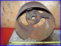 Old JOHN DEERE Hay Press Baler Potato Digger Hit Miss Gas Engine PULLEY E551E