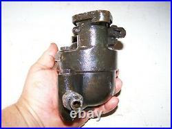 Old KINGSTON 4-Ball Tractor Brass Carburetor WALLIS HEIDER Steam Hit Miss Engine