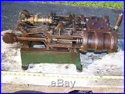 Old LOCOMOBILE 2 Cylinder Steam Car Engine Display Base Hit Miss Gas Tractor WOW